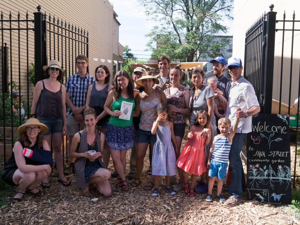 Java Street Garden Community Members